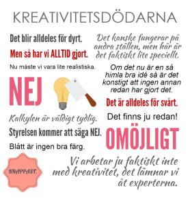 Kreativitetsdödarna